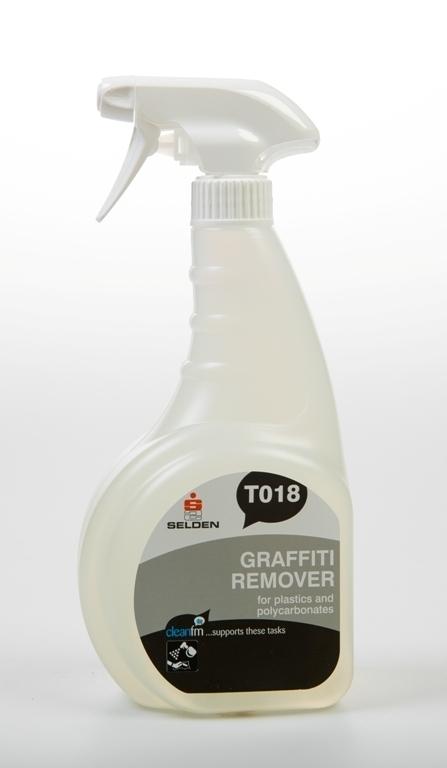 Grafiti tīrīšanas līdzeklis