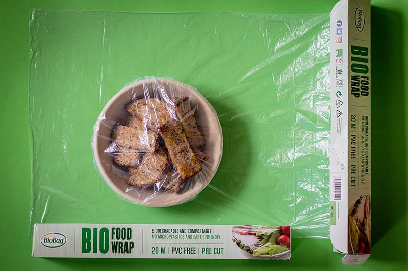 pārtikas plēvē kompostējama